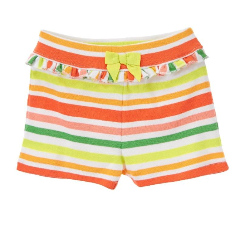 Nwt GYMBOREE Mix N Match GIRLS Pink Stripe BUBBLE Knit SHORTS 3t