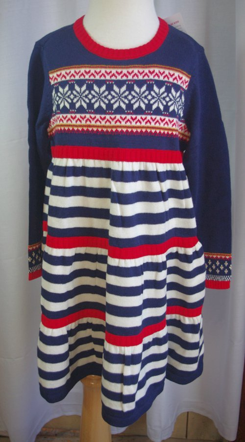 df317de3fc Quality Hanna Andersson Brand. Up for auction is a pretty sweater dress.  Color  Navy