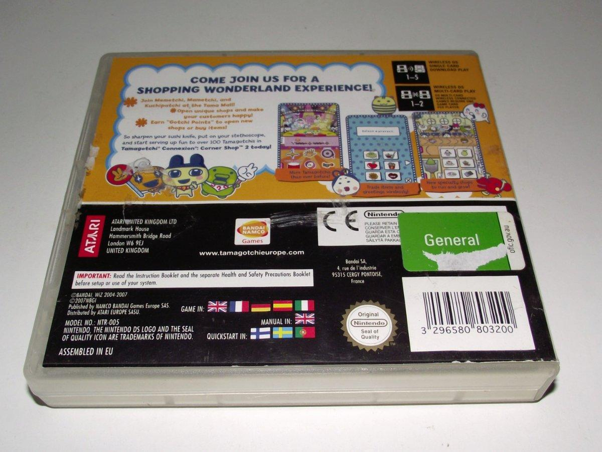 tamagotchi connexion corner shop 2 nintendo ds 2ds 3ds