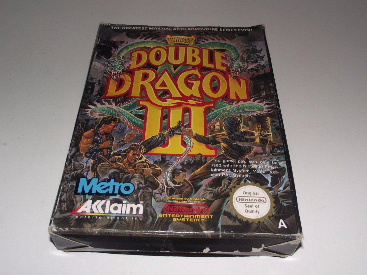 Double Dragon Iii The Sacred Stones Nintendo Nes Boxed Pal