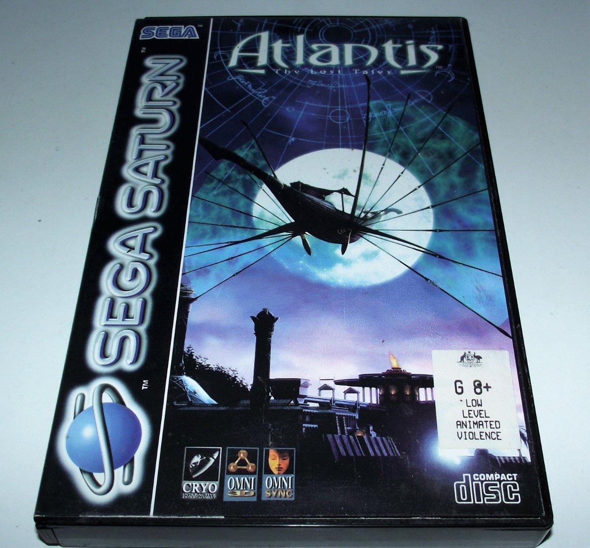 Details about Atlantis The Lost Tales Sega Saturn PAL *Complete*