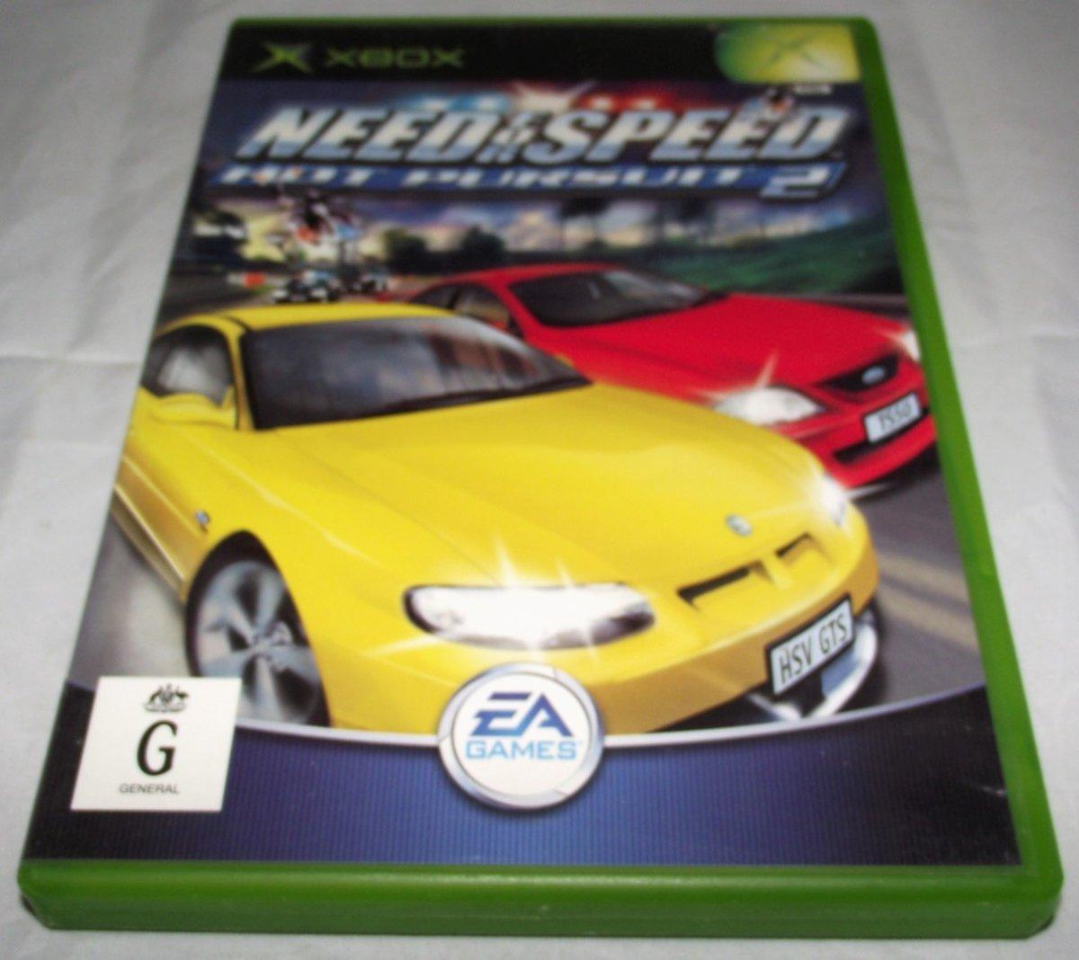 Need For Speed Hot Pursuit 2 Xbox Original Pal Complete Ebay