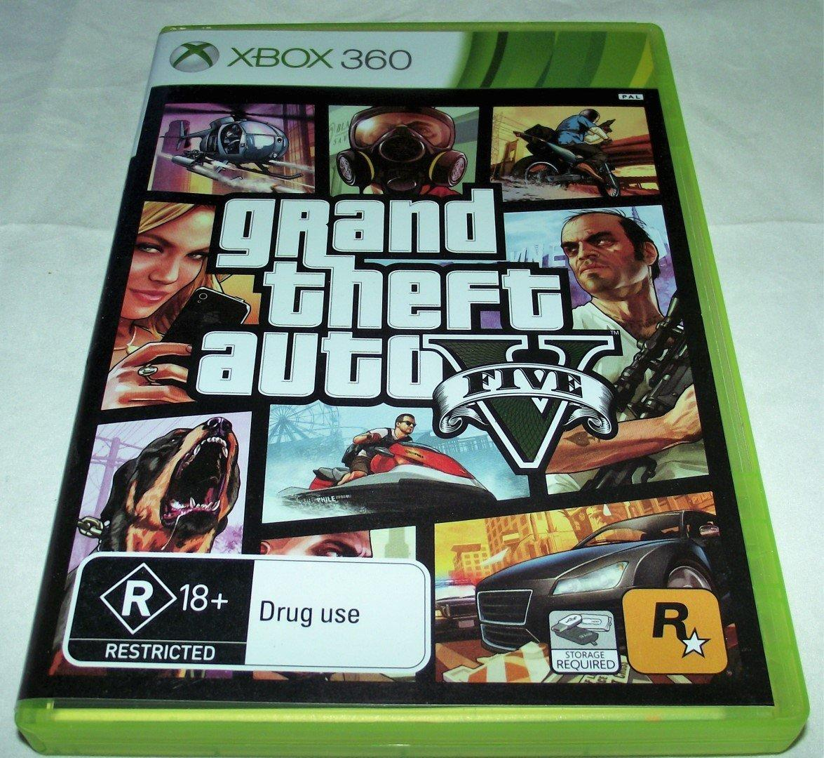 Details about Grand Theft Auto V Five XBOX 360 PAL *Complete*