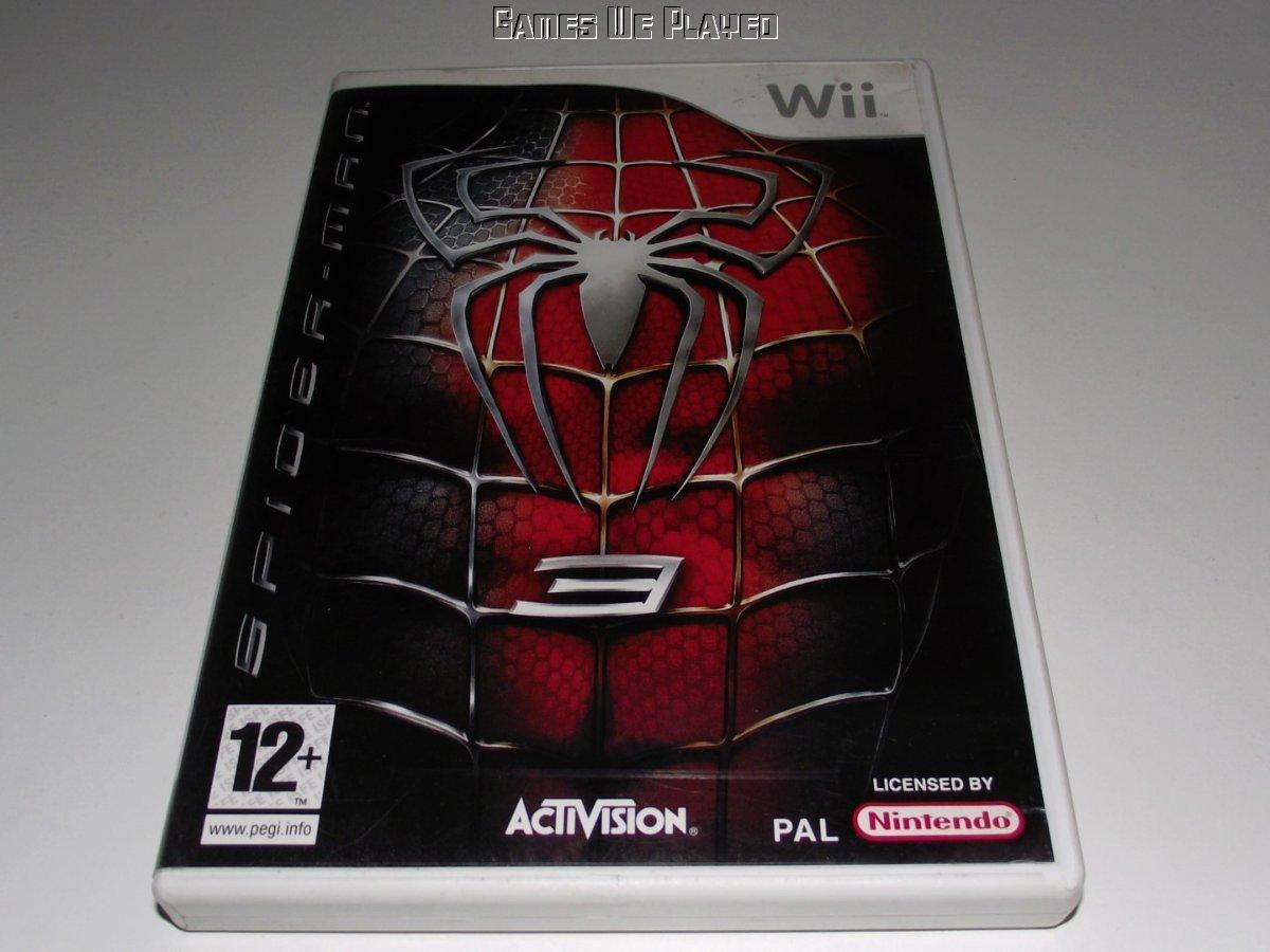 spider-man 3 nintendo wii pal *complete* wii u compatible | ebay