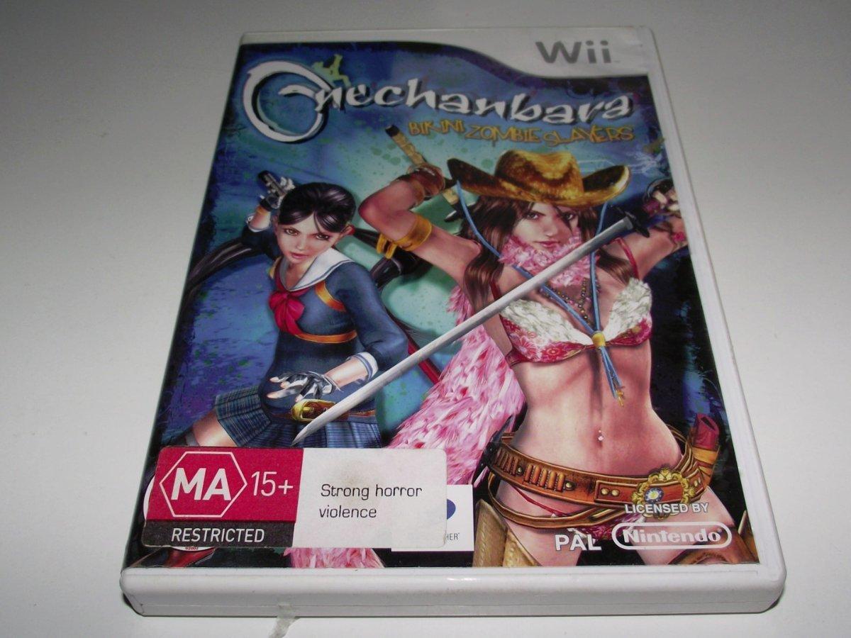 Onechanbara Bikini Zombie Slayers Nintendo Wii Pal Complete Wii