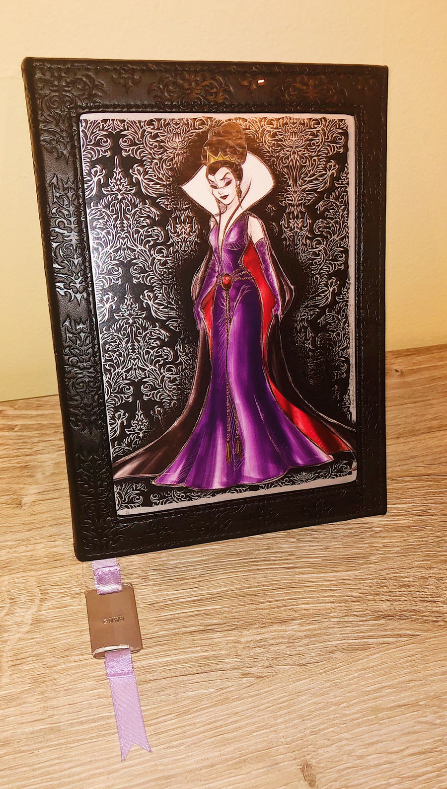 Disney Store Oh My Disney Mondays are evil evil queen villain lined journal New
