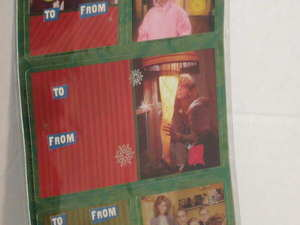 A Gift For Christmas Story.Details About 18 Assorted Christmas Story Gift Tags Foil Self Stick Ralphie Leg Lamp Nip