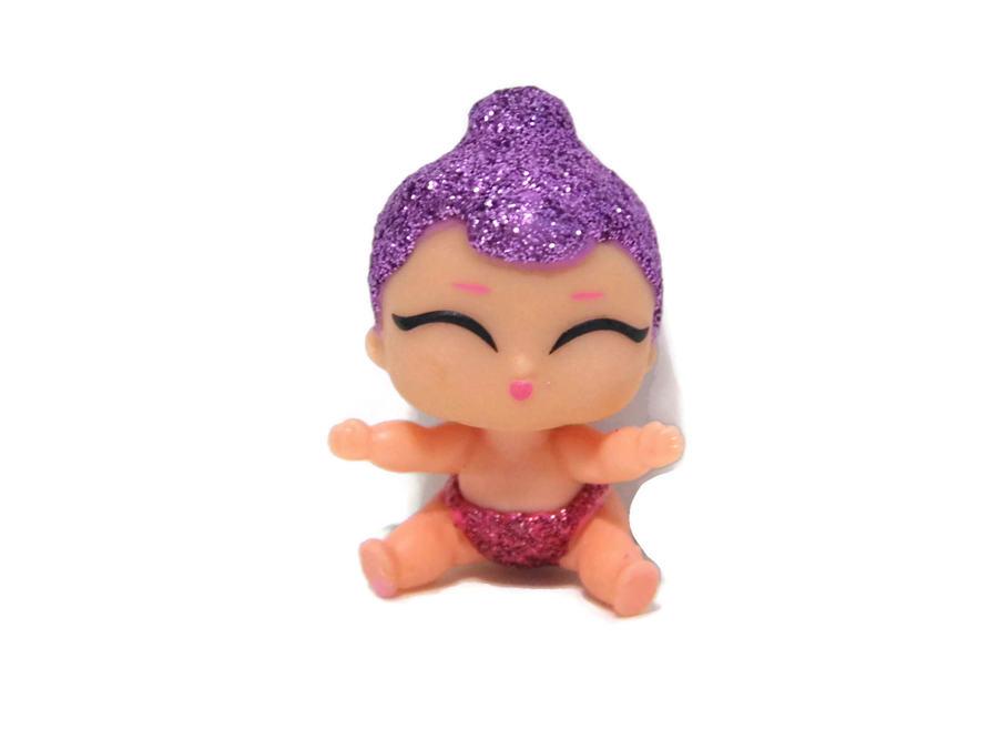 LOL Surprise Series 3 Lil Sugar Queen 3-038 Glitterati New Loose Rare