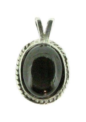 Silver black star sapphire pendant ebay silver black star sapphire pendant aloadofball Choice Image