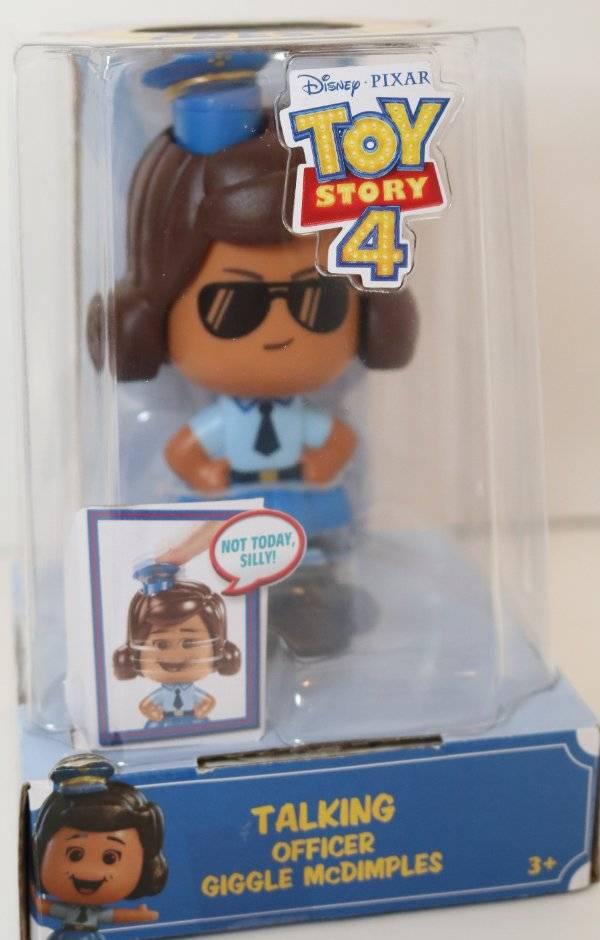 Disney Pixar Toy Story 4 Talking Officer Giggle McDimples