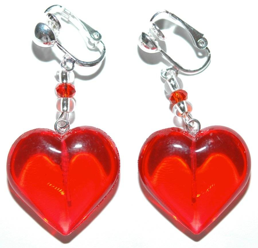 Overstock uses cookies to ensure you get the best experience on our site. If you continue on our site, you consent to the use of such cookies. Learn more. OK Red Earrings. Jewelry & Watches / Bling Jewelry Marquise CZ Clip On Earrings Red Red Drop Rhodium Plated.