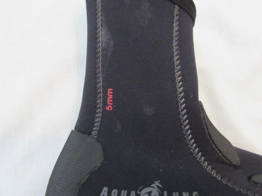 Sporting Goods Responsible Aqua Lung Mens 5mm Superzip Ergo Boots Fins, Footwear & Gloves