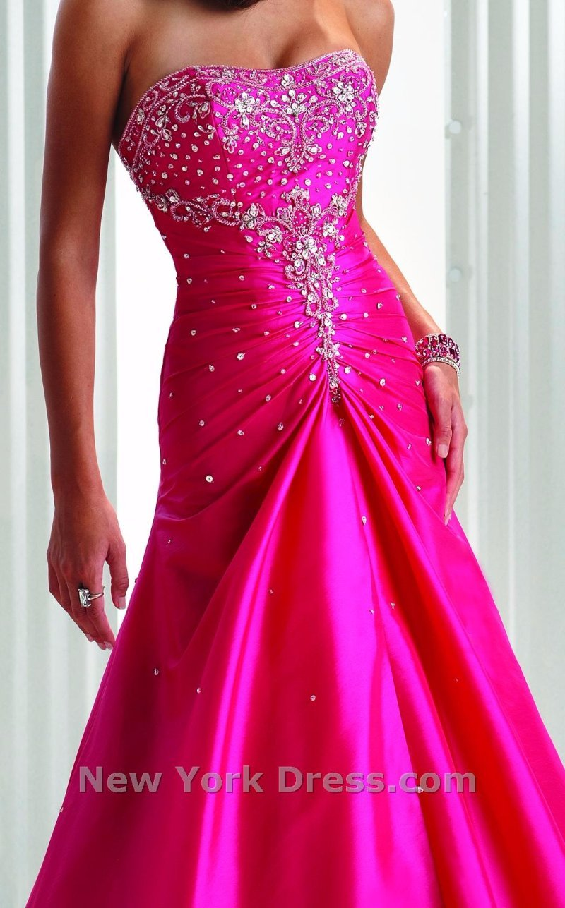 Flirt by Maggie Sottero 10 FUCHSIA A-LINE FORMAL PROM PAGEANT DRESS ...