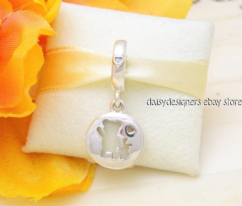 865c906e0 NEW Authentic Pandora PERFECT PALS Dangle Charm 797035EN23 RETIRED ...