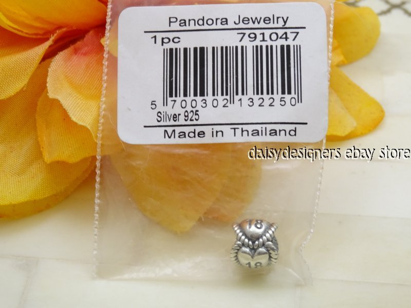 NEW Genuine 925 Sterling Silver SS Heart Weave Circle Spacer Charm LH185