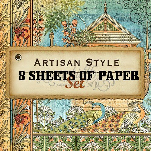 Graphic 45 Quot Artisan Style Quot 12x12 Paper Collection 8