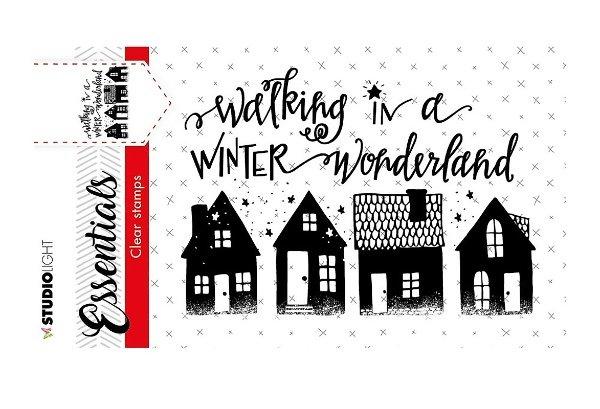 Studio Light Essentials Christmas Cling Stamps