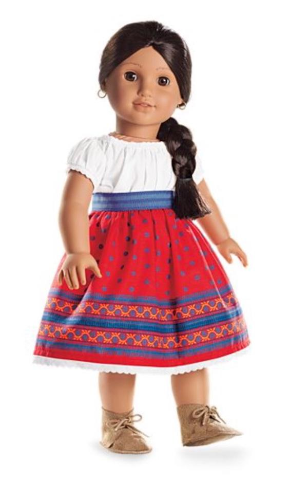 New American Girl SASH ONLY From Josefina/'s Indigo Skirt /& Camisa School Outfit