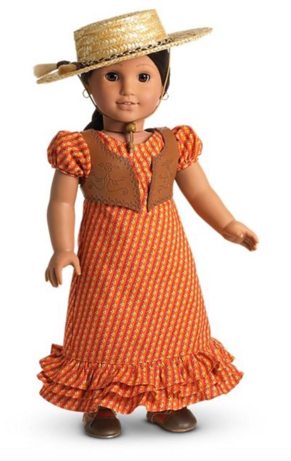 American Girl Doll Julie Birthday Dress beaded necklace only-New replacement