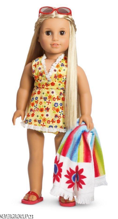 American Girl Doll Flip Flops New