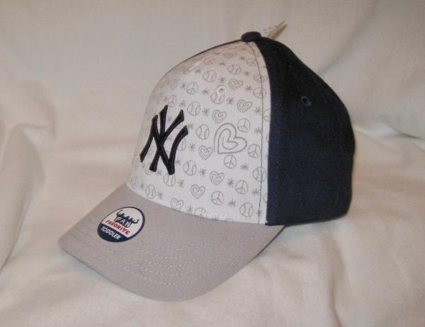 Details about MLB TODDLER SIZE GIRLS NEW YORK YANKEES ADJUSTABLE HAT~CAP ~CHILD~YOUTH~NWT d1aebffdc48