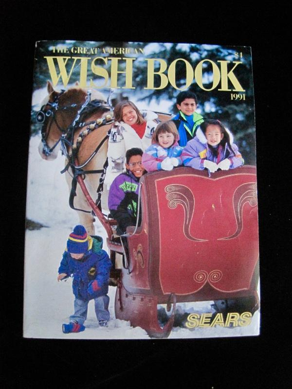 Details about Vtg Sears 1991 Holiday~Christmas Wish Book~Department Store  Catalog