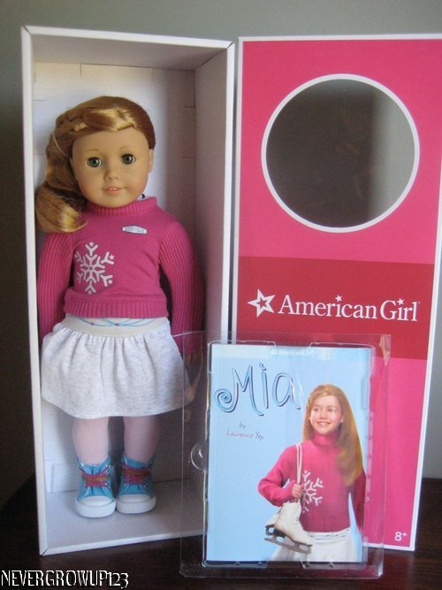 Mia 2008 American Girl Doll Meet Outfit Pink Sweater Shirt ONLY Retired