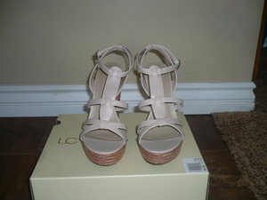 d4b9f3a91dbe WOMEN S U.S. SIZE 9 1 2. BRAND NEW IN ORIGINAL LC LAUREN CONRAD BOX.     LISTING IS FOR SHOES ONLY~NOT THE ITEMS OF CLOTHING IN PHOTOS