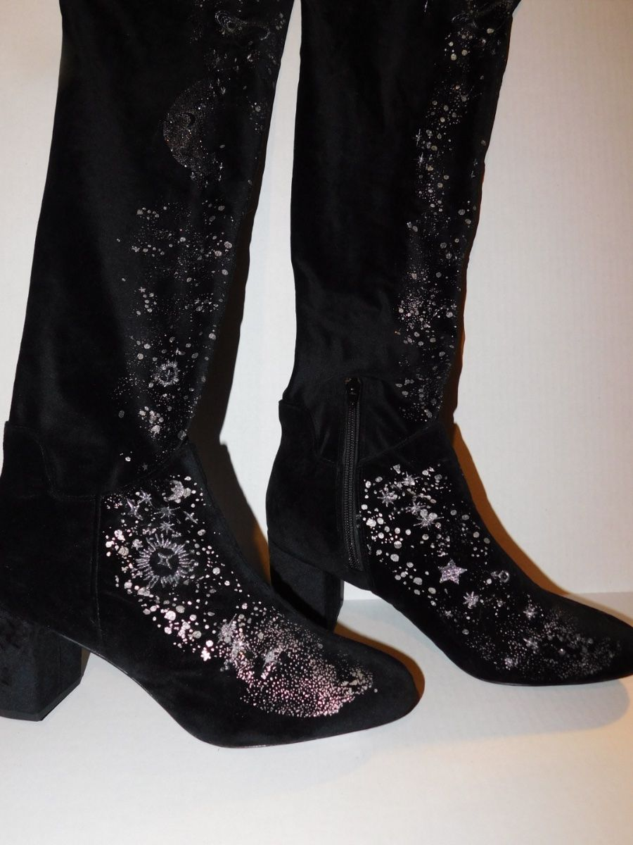 6b6e2a80f73a4 Details about Free People Celestial Over the Knee Boots-40-$288 MSRP