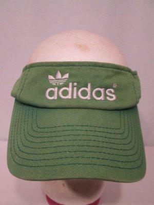 vintage adidas green cotone sole visiera sudore cappello vecchia scuola una dimensione