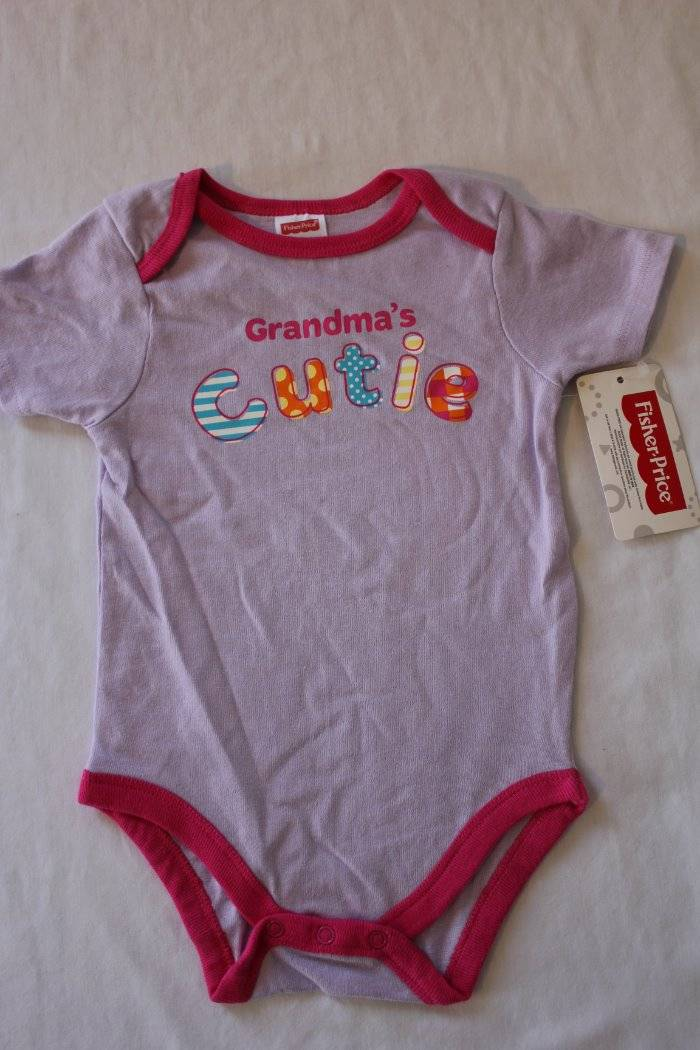 NEW Baby Girls 6-9 Months Bodysuit Creeper Outfit Infant 1 Piece Love Berry
