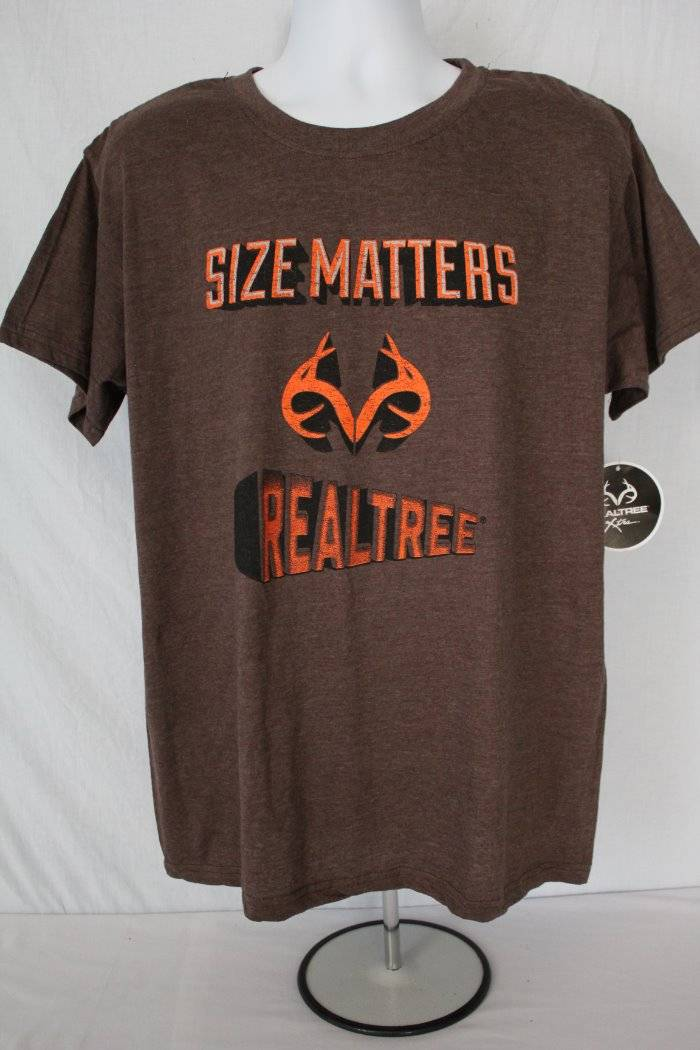 NEW Mens T Shirt Realtree Xtra Size Large Top Buck Deer