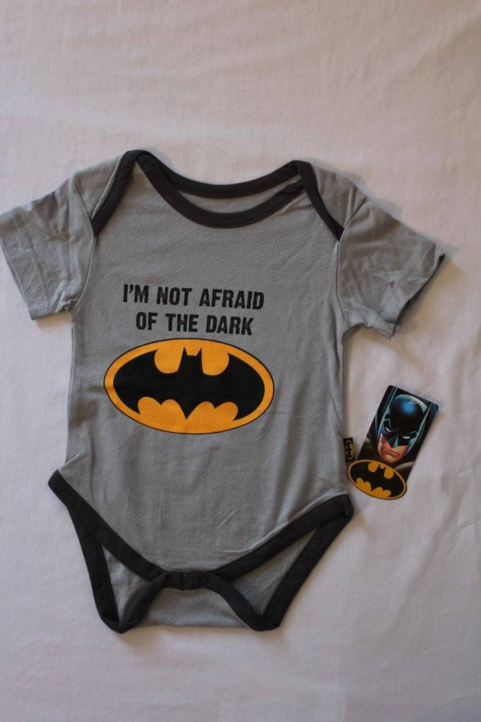 2 Pack Baby Girls Batgirl Bodysuit 0-3 Months Creeper One Piece Superhero Lot