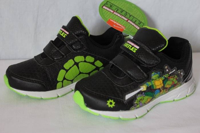 Details about NEW Toddler Boys Tennis Shoes Size 5 Black TMNT Mutant Ninja  Turtles Sneakers 885f781ce