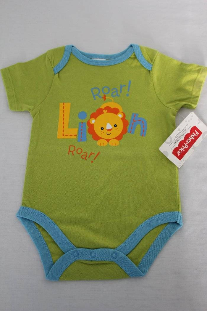 NEW Baby Boys Bodysuit 3-6 Months Dinosaur Creeper Outfit 1 Piece Infant T Rex