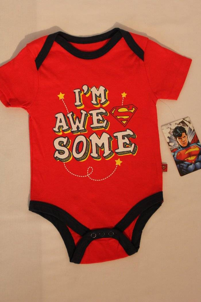 NEW Baby Boys Bodysuit 6-9 Months Creeper Outfit 1 Piece Fox Outdoors Animal