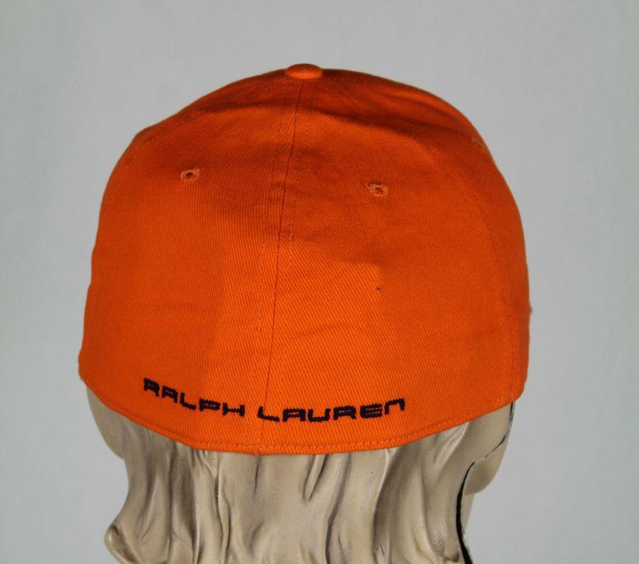 d16e1d139a782 Details about Ralph Lauren RLX Sport Orange Baseball Ball Cap Hat S M NWT