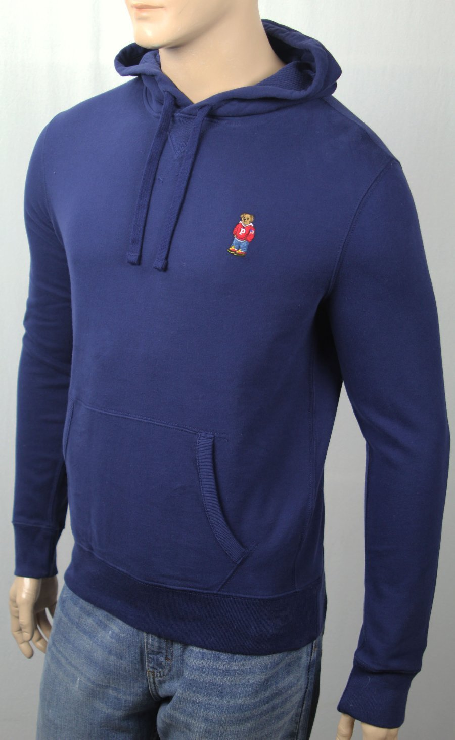 Polo Ralph Lauren Sweatshirt Dress Navy Blue