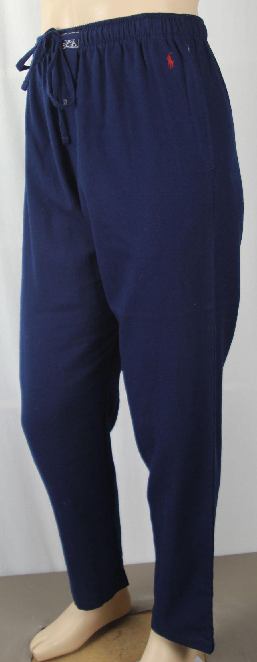 brand new 010eb 31b8e Herrenmode Nachtwäsche POLO Ralph Lauren Navy Blue Pajamas ...