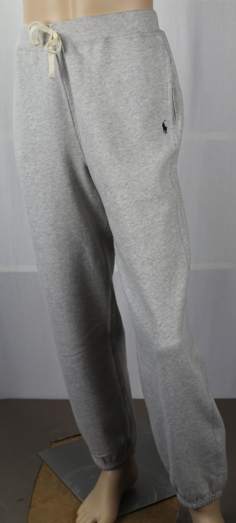 hot-selling fashion san francisco good Details about Polo Ralph Lauren Kids Youth Grey Fleece Sweatpants Navy Blue  Pony NWT