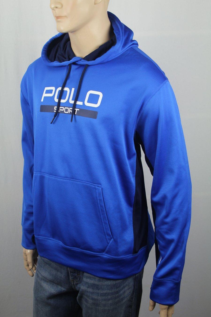 Détails sur Polo Ralph Lauren Sport Bleu Royal Marine Athletic Capuche Nwt