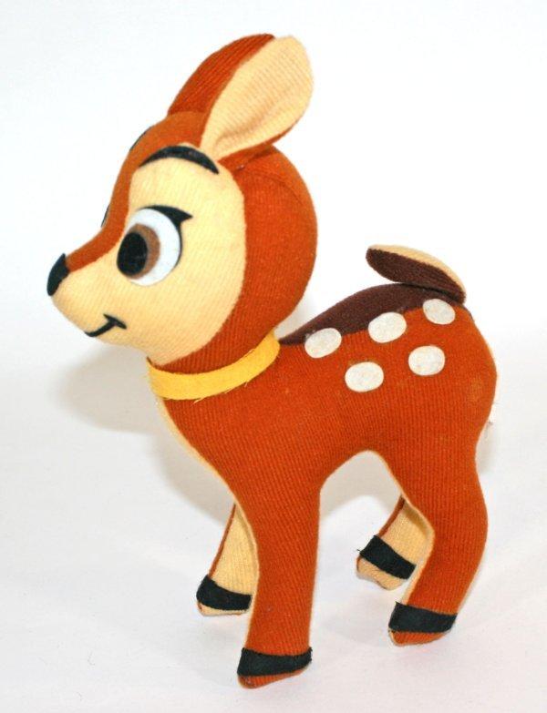 II Bambi Deer Toy Vintage Knitting PATTERN Fawn