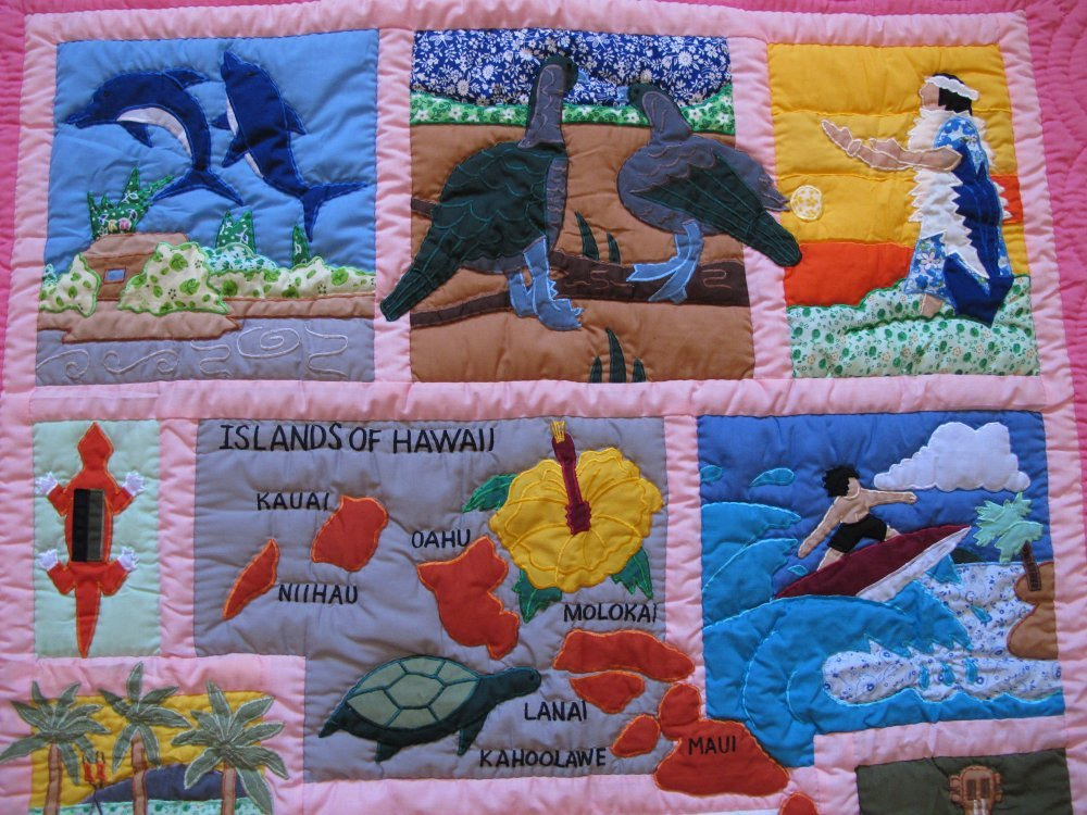 how to machine quilt a baby blanket