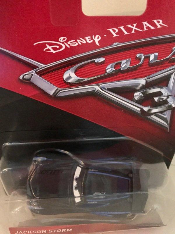 disney pixar cars 3 jackson storm 2017 nueva pel cula mattel die cast diecast ebay. Black Bedroom Furniture Sets. Home Design Ideas