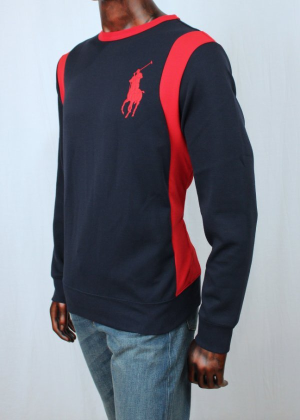 Polo Ralph Lauren Embroidered Crest Pullover Sweater Limited Edition