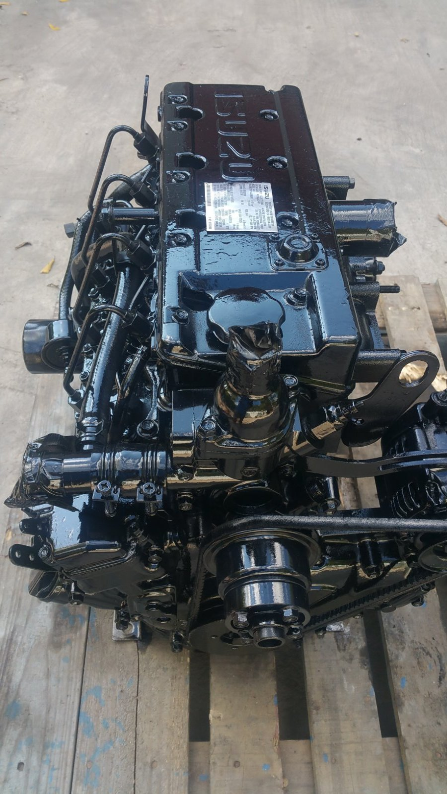 isuzu 4le1 diesel engine used ebay. Black Bedroom Furniture Sets. Home Design Ideas