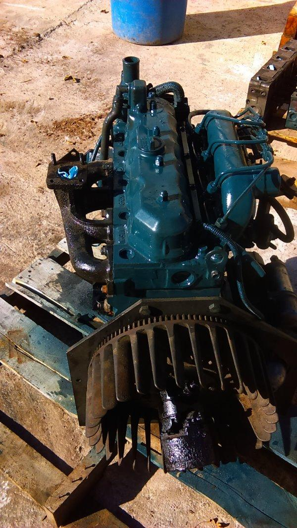 Details about Kubota - V1702 - Diesel Engine - USED