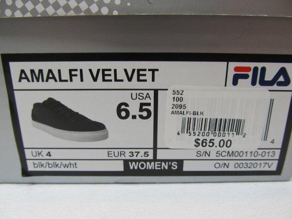 Size Sneakers 6 Shoes Amalfi Ebay Velvet New Fila Womens With 5 Box eID29YWEH
