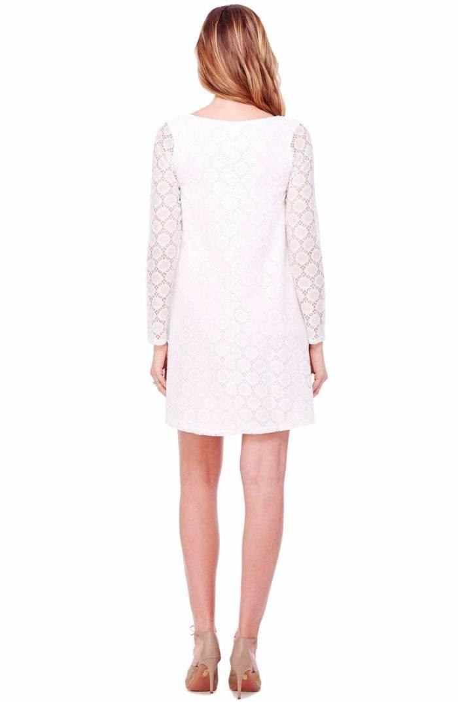 c18de72b6cf Ingrid   Isabel Dot Lace Maternity Dress. Color  White. Size  Small ...