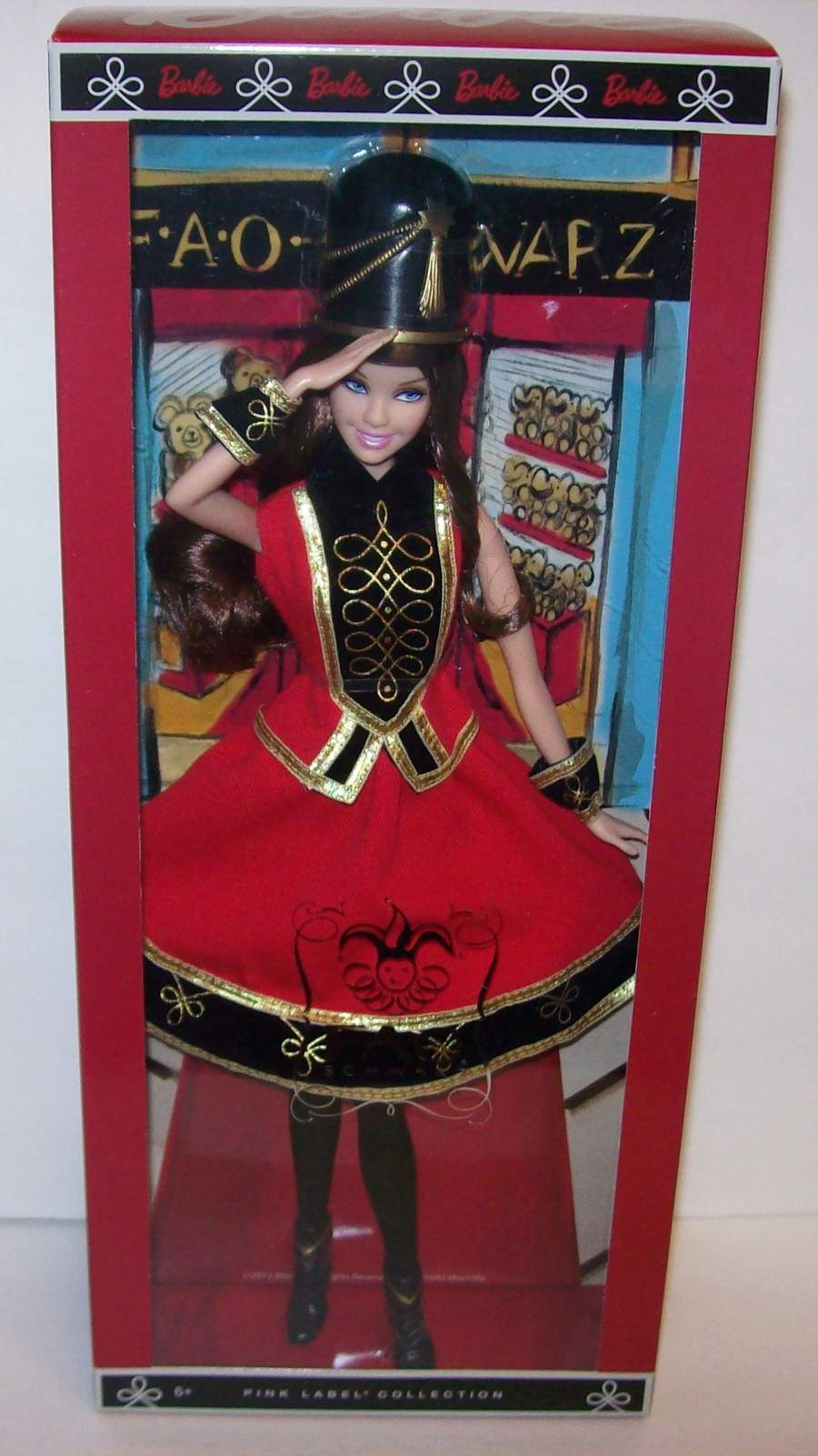 FAO Schwarz 150th Anniversary Barbie Soldier Doll Mattel 2012 NEW Ready to Ship!